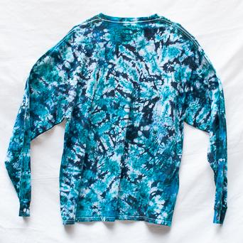 Blue Long-Sleeve Size XL