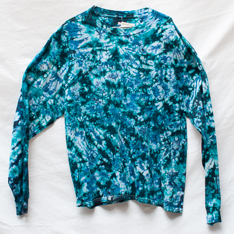 Blue Long-Sleeve T-Shirt XL