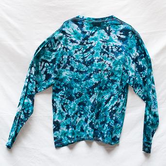 Blue Long-Sleeve T-Shirt XL