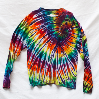 Rainbow Long-Sleeve T-Shirt XL