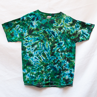 Green Short-Sleeves Youth XL