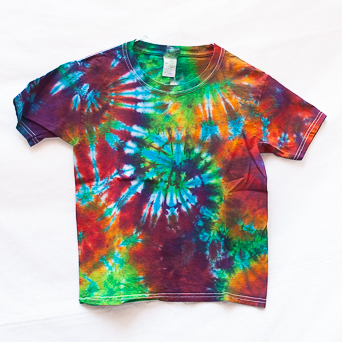 Classic Tie-Dye Kids T-Shirt Youth S