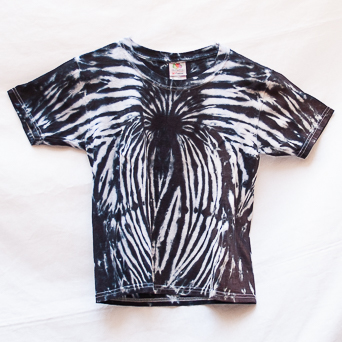Zebra Design T-Shirt Youth S