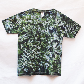 Camouflage Green T-Shirt Youth Small