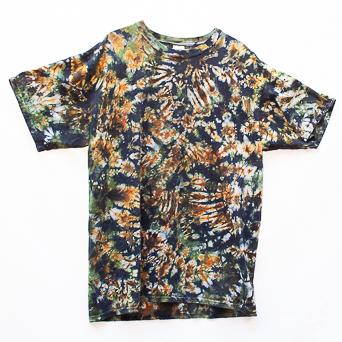 Green Brown T-Shirt XL