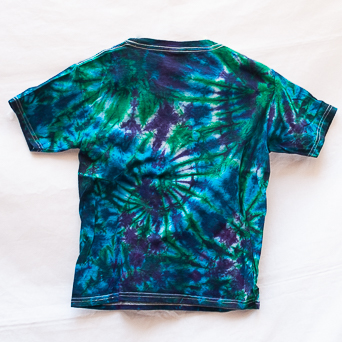 Blue Green Children's T-Shirt Youth S