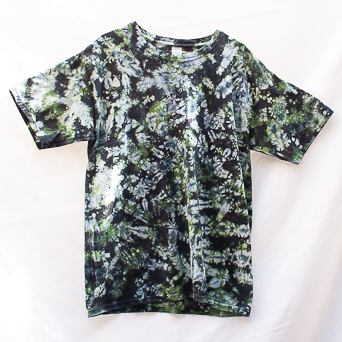 Green Tie-Dye T-Shirt Size Large