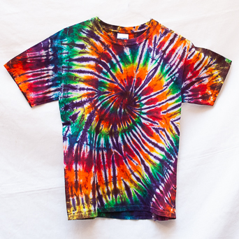 Multicolour Spiral T-Shirt Youth M