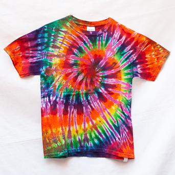 Multicolour Tie-Dye T-Shirt Youth M