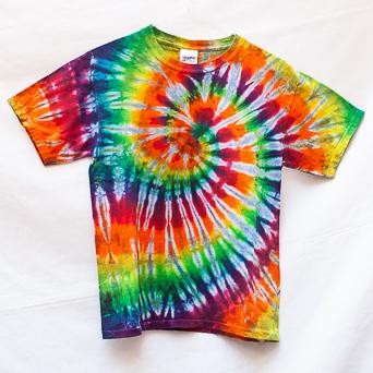Rainbow Tie-Dye Youth M