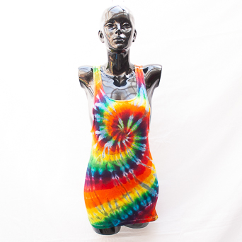 Rainbow Spiral Vest XL
