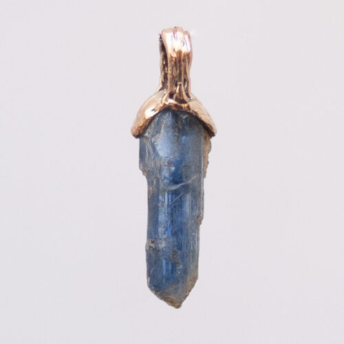 Small 9K Gold Kyanite Necklace