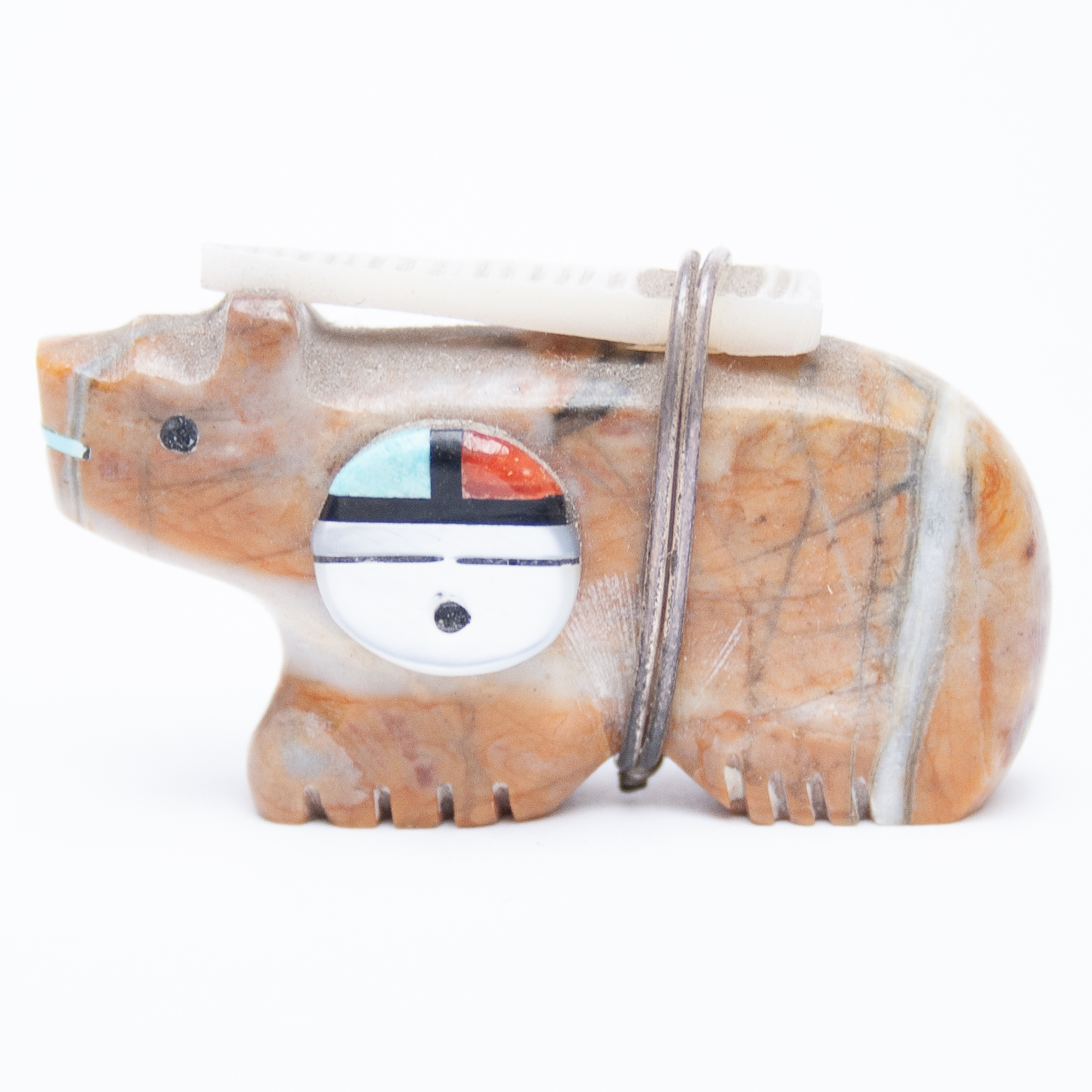 Darren Boone Zuni Bear Carving
