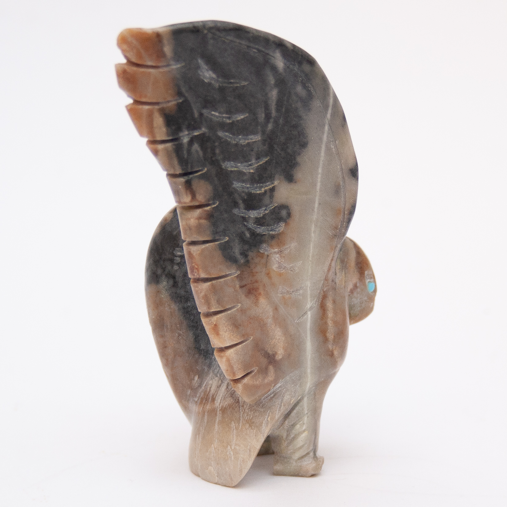 Cody Nastacio Eagle Zuni Fetish Animal Carving