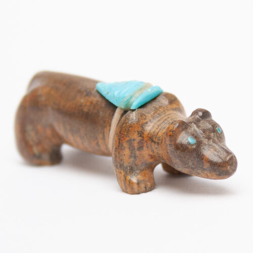 Hippopotamus Zuni Animal Carving