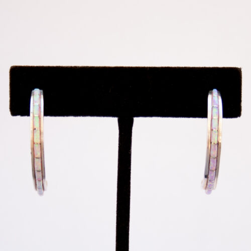 Susanna Kallestewa Opal Hoop Earrings