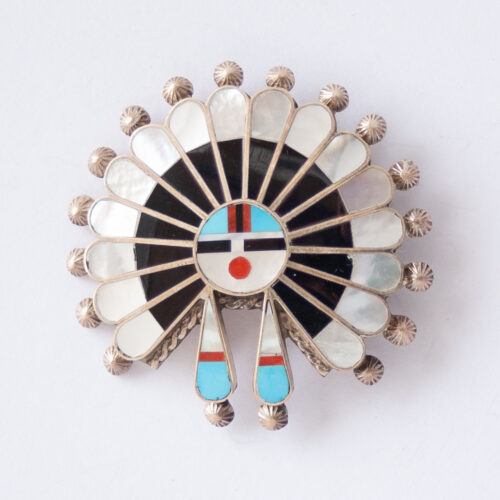 April Unkestine Kachina Pin Pendant