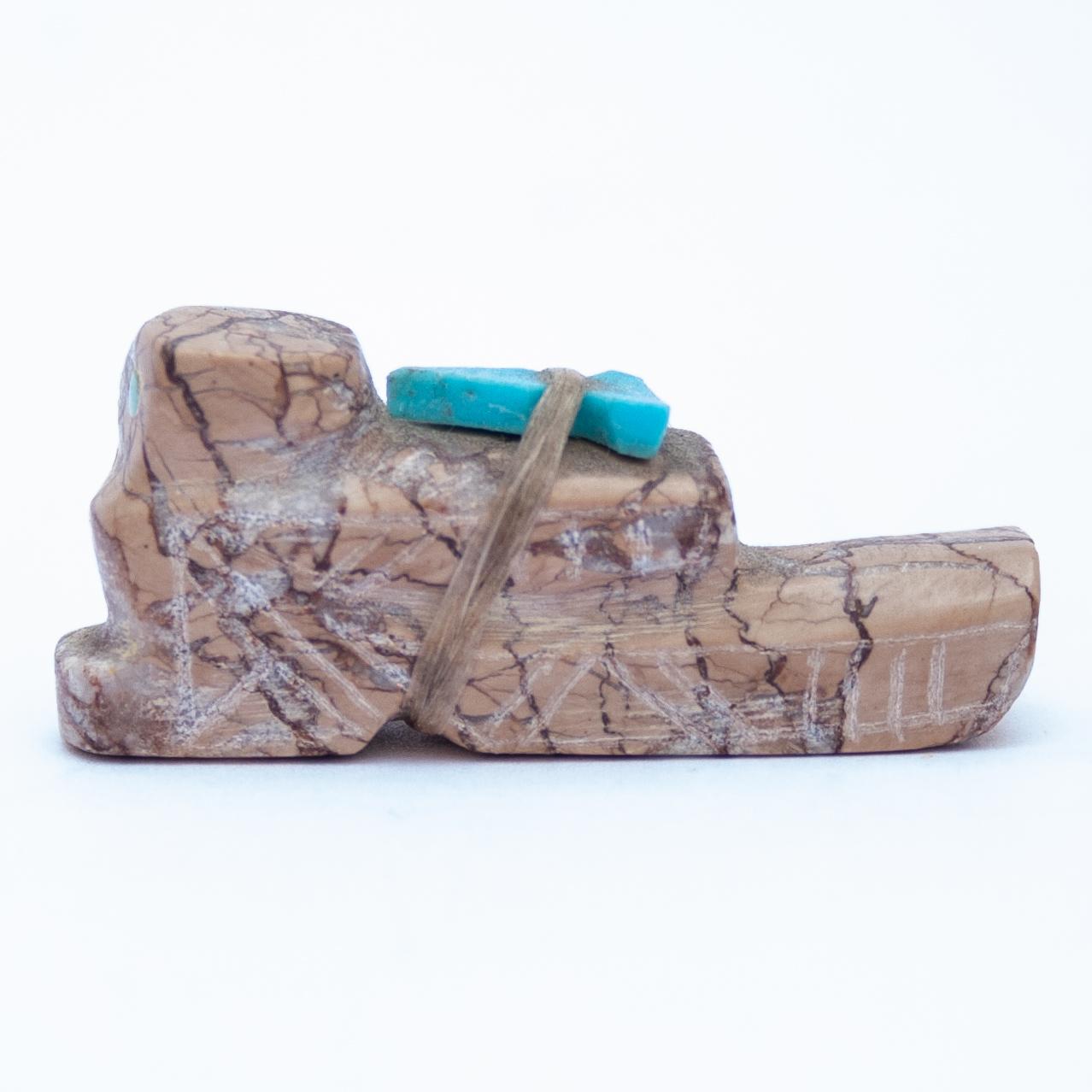 Howard Lesarlley Owl Carving