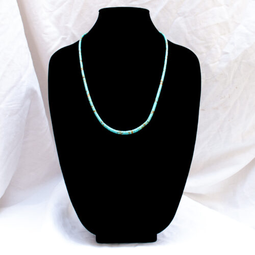 Santo Domingo Kevin Garcia Long Turquoise Necklace