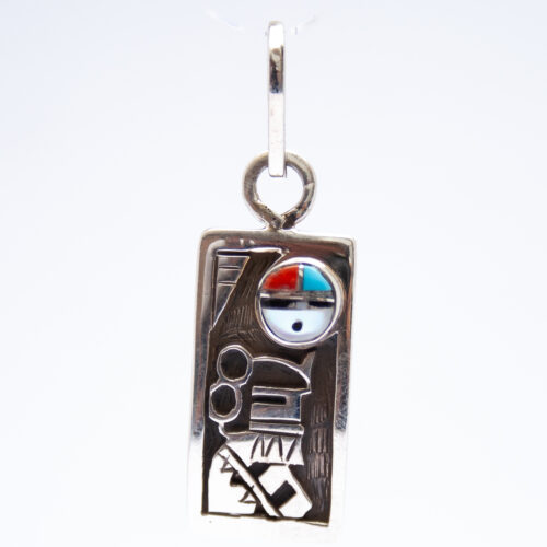 Small Silver Kachina Pendant