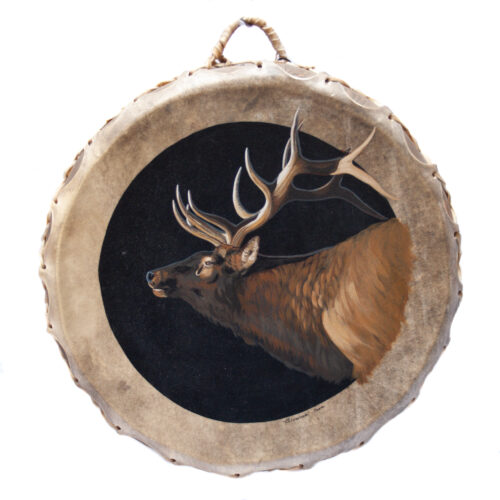 Giovanna Paponetti Ceremonial Elk Drum