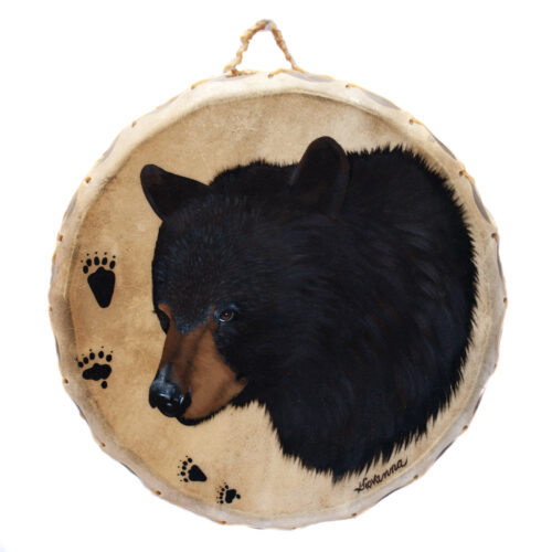 Giovanna Paponetti Ceremonial Bear Drum