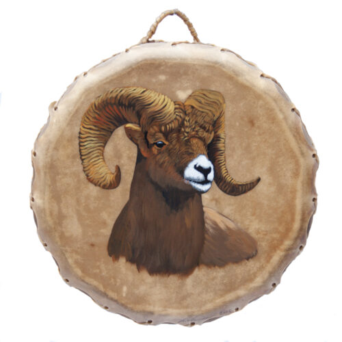 Giovanna Paponetti Ceremonial Ram Drum