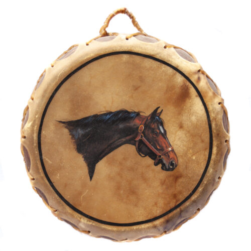 Native American Ceremonial Horse Drum