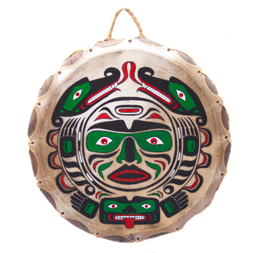 Northwest Coast Whale Moon Bear Shamanic Drum