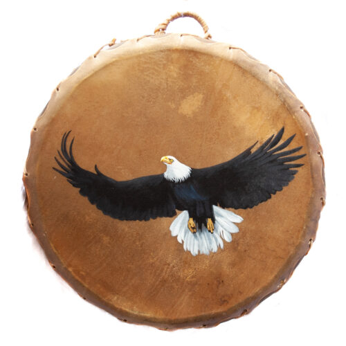 Taos Pueblo Ceremonial Eagle Drum