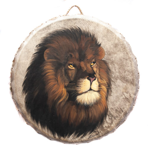 Giovanna Paponetti Ceremonial Lion Drum