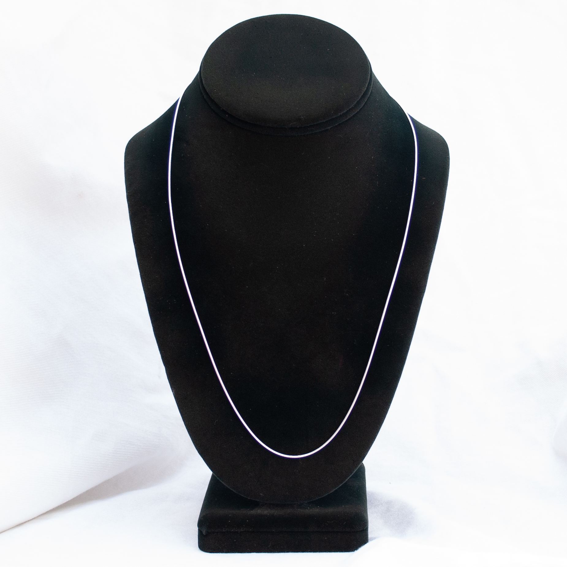 """Sterling Silver Snake Chain 22"""""""