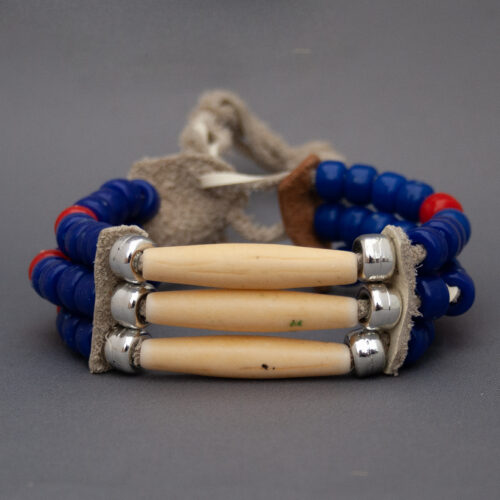 Native American Cherokee Buffalo Bone Bracelet