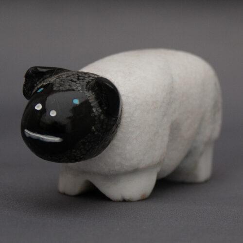 Rick Quam Sheep Zuni Animal Carving