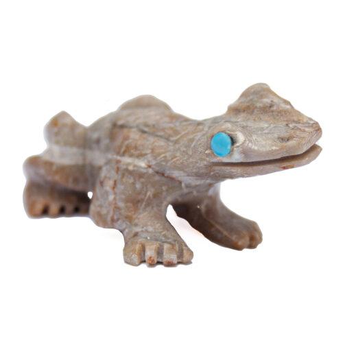 Dana Maloni Picasso Jasper Frog Carving