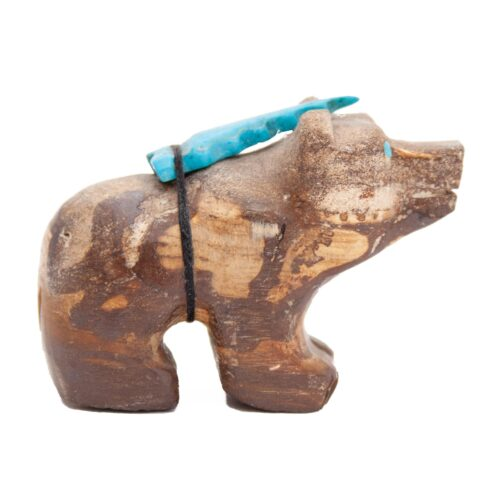 Douglas Martza Jasper Zuni Bear Carving