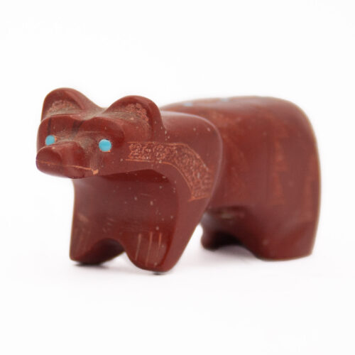 Patrick Wallace Catlinite Raccoon Carving