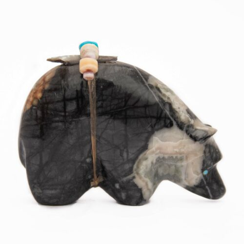 Picasso Marble Zuni Bear Carving