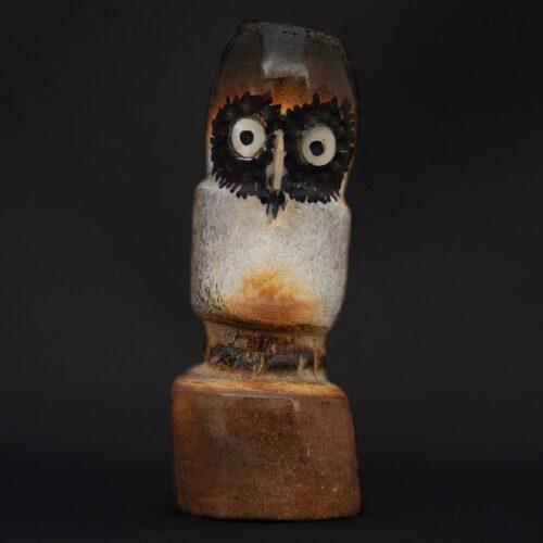 Zuni Owl Spirit Animal Fetish Carving